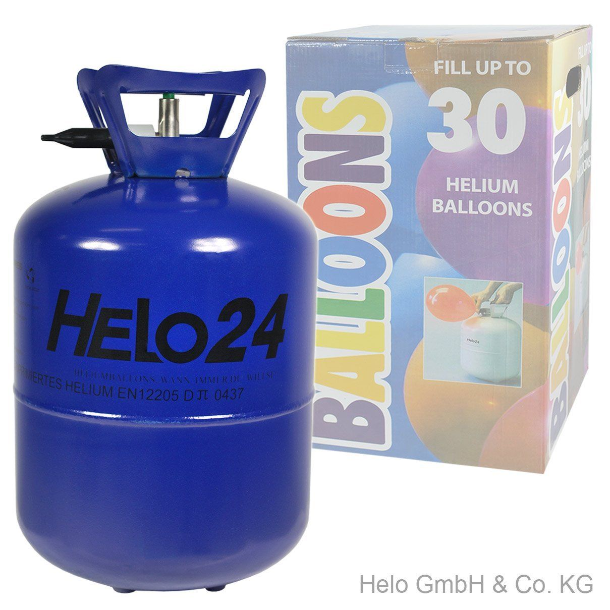 helium ballongas heliumflasche ballon gas party f r 30. Black Bedroom Furniture Sets. Home Design Ideas