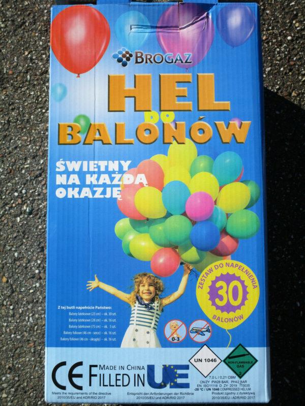Ballongas Set